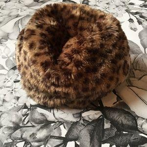 Host Pick 🎀 Gymboree Leopard Faux Fur Hat